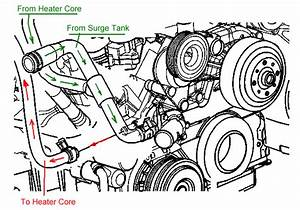 2008 Chevy Silverado Heater Hose Diagram