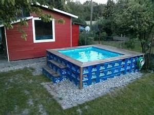 Pool Selber Bauen Paletten : pool aus bierk sten diy do it yourself pinterest ~ Yasmunasinghe.com Haus und Dekorationen