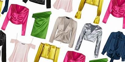 Satin Blouses Blouse Silk Jeans Tops Shopping
