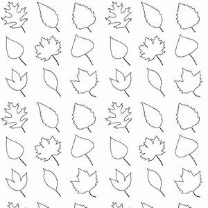 Free printable leaves coloring pattern paper ...