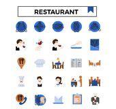 reservation book   restaurant hotel  stock image