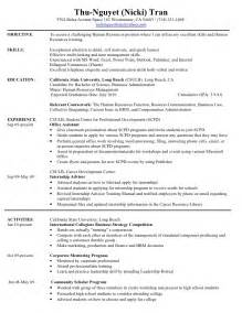 HD wallpapers hr generalist resume samples