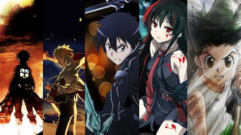 Anime Crossover Wallpaper - mixed anime wallpaper hd wallpaper background image