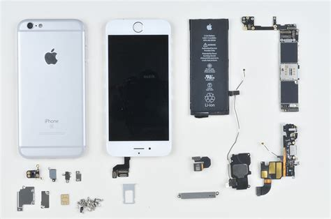 cost of iphone 6s the components of the apple iphone 6s cost just 245 in
