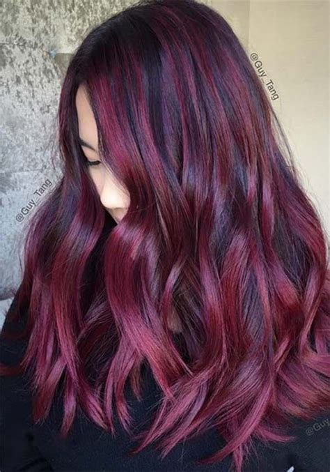 And Burgundy Hairstyles by 60 Gorgeous Burgundy Hairstyles That You
