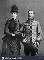 Crown Prince Rudolf of Austria with his wife Stéphanie of ...