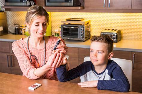 test  childs blood glucose levelsinside