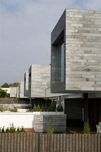 6 Semi-Detached Homes United by Matching Contemporary