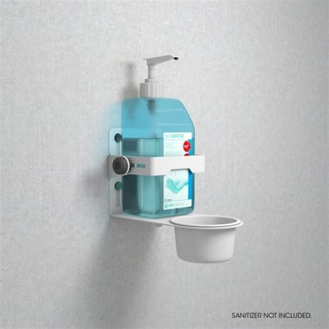 gravity ma dis   universal disinfectant holder white dj solutions store