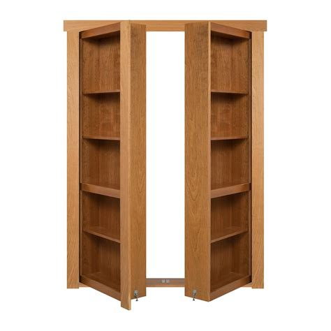 Murphy Bookcase by The Murphy Door 72 In X 80 In Flush Mount Assembled