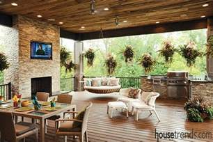 stunning images outdoor living home plans spectacular outdoor living spaces