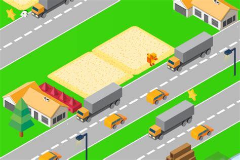 crossy animal road crossy road clone buildbox  game