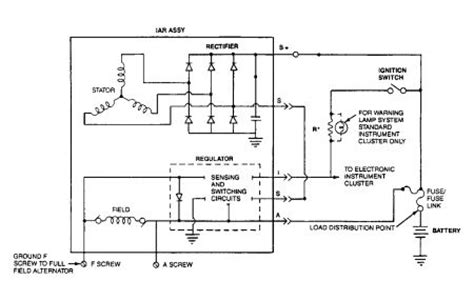 Automotive Charging System Wiring Diagram by 1992 Ford Crown Charging System Electrical