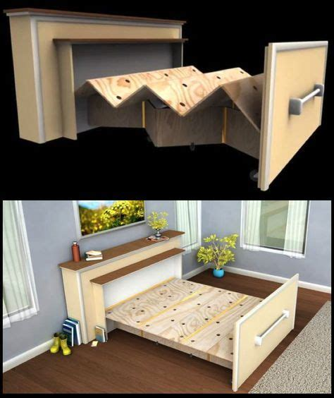 built in beds for small spaces live in a tiny house build a diy built in roll out bed