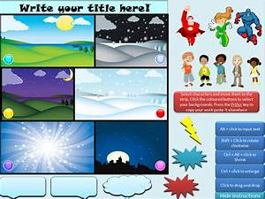 powerpoint technostories page 2 With comic strip powerpoint template