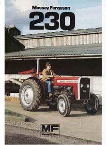 Massey Ferguson Mf230 Tractor Parts Manual 130pgs W   Mf
