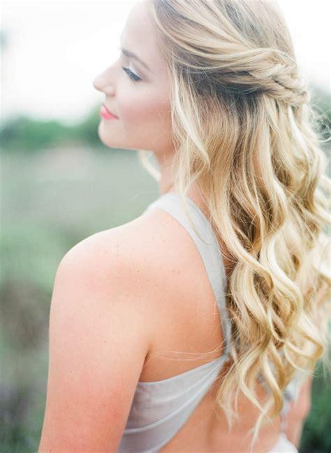 Lovely Double Twist, Half Up Half Down Wedding Hair   Mon