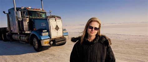 Women In Trucking Ice Road Trucker Lisa Kelly