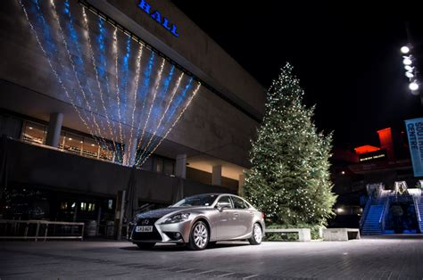 lexus christmas lexus is 300h says merry christmas from london