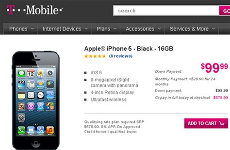 t mobile iphone plans t mobile will soon carry iphone 5