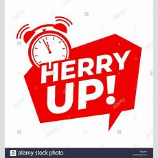 Hurry Up With Alarm Clock Symbol, Promotion Offers Banner Design Template For Marketing
