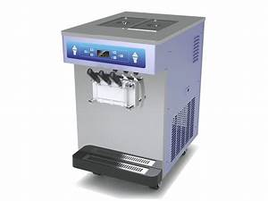 Manual Ice Cream Machine Cleaning