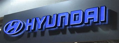 Hyundai Sign In by Photo Gallery Cal Sign Wholesale