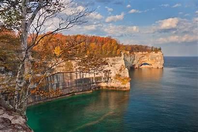 Michigan Rocks Pictured Getaways Lakeshore National Honeymoon