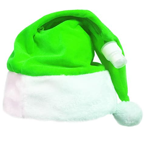 how to make a green christmas hat santa hat flask gaggifts