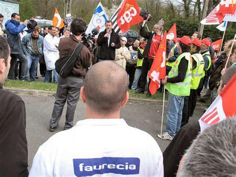 faurecia siege social franck marlin aux côtés des salariés de faurecia