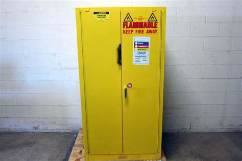 flammable liquid storage cabinet grounding lot 76 justrite flammable liquid storage cabinet wirebids