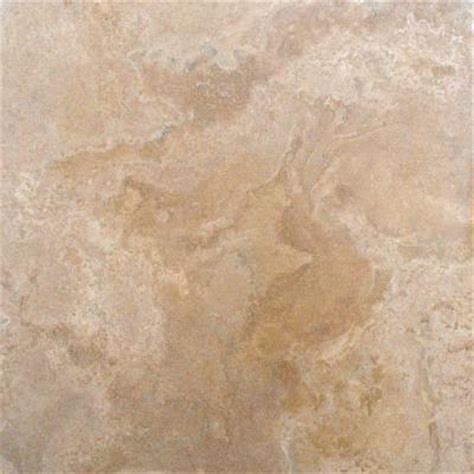24x24 Granite Tile Home Depot by Ms International Castle 18 In X 18 In Honed Travertine