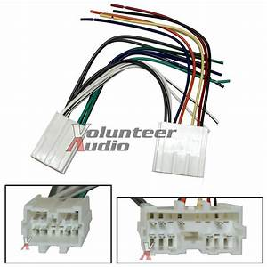 Volvo Car Stereo Cd Player Wiring Harness Wire Aftermarket
