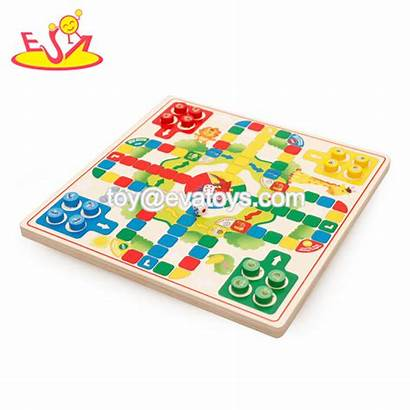 Chess Board Ludo Wooden Toy Wholesale Entertainment