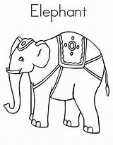 Coloring Elephant Circus Elmer Pages Sheet Elephants Preschool Getcoloringpages Library Coloringhome Popular sketch template