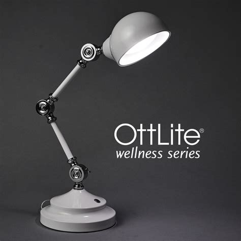 ottlite led desk l ottlite revive led desk l wellness series office