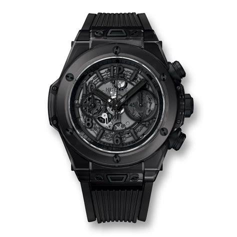 Hublot Bigbang Black Brown big unico all black sapphire 45mm