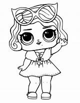 Lol Coloring Pages Dolls Doll sketch template