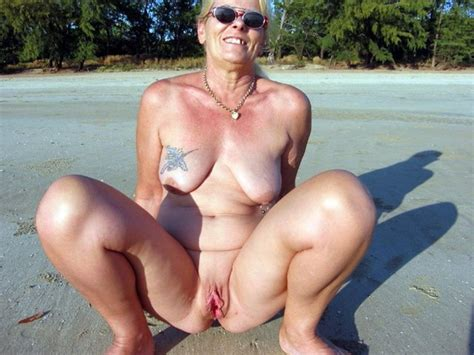 Mature Beach Porn Pictures Image