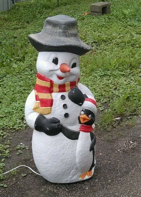 blow mold yard decoration snowman p christmas plastic