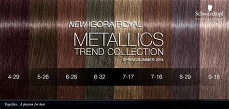 schwarzkopf igora royal metallics glamotcom