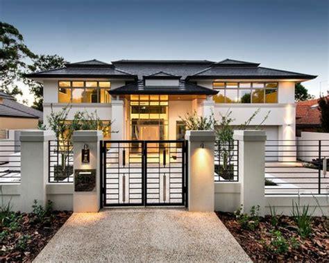 Moderne Einstöckige Häuser by Modernes Haus Und Fassade Perth Ideen F 252 R Die