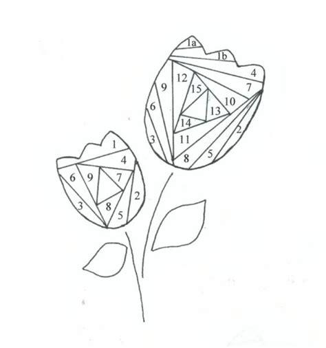 iris folding templates pin iris folding picture on