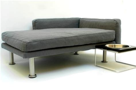 Modern Pet Bed Chaise Lounge Chair