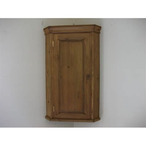 wall mounted corner cabinet pine wall corner cupboard w51cm