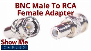 Bnc Male To Rca Female Adapter  3018