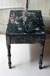 decorative, black, painted, occasional, or, bedside, table, , circa, 1900, at, 1stdibs