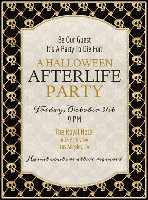 35+ Halloween Invitation  Free Psd, Vector Eps, Ai. Download Excel Budget Template. Consulting Invoice Template Word. Missing Dog Flyer Template. Chalkboard Poster Template. Custom Youtube Banner. Nutrition Facts Label Template. Corrective Action Template Word. Creative Business Cards Template