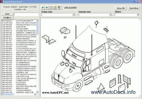 kenworth spare parts catalog parts catalog order