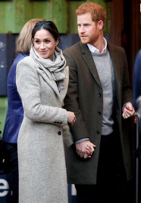 prince harry  meghan markle visit london radio station